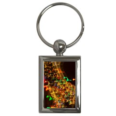 Christmas Tree Light Color Night Key Chains (rectangle)