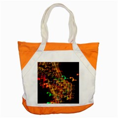 Christmas Tree Light Color Night Accent Tote Bag