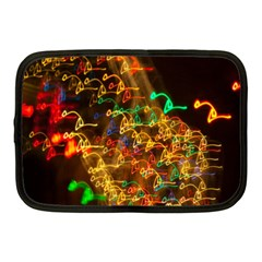Christmas Tree Light Color Night Netbook Case (medium)