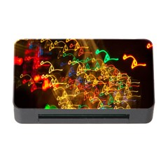 Christmas Tree Light Color Night Memory Card Reader With Cf