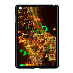 Christmas Tree Light Color Night Apple Ipad Mini Case (black)