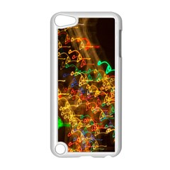 Christmas Tree Light Color Night Apple Ipod Touch 5 Case (white)