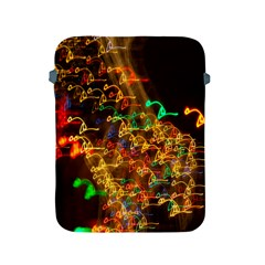 Christmas Tree Light Color Night Apple Ipad 2/3/4 Protective Soft Cases