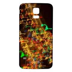 Christmas Tree Light Color Night Samsung Galaxy S5 Back Case (white)