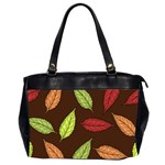 Autumn Leaves Pattern Office Handbags (2 Sides)  Front