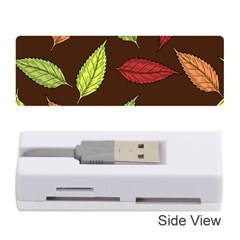 Autumn Leaves Pattern Memory Card Reader (stick)