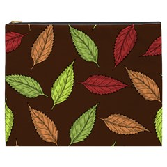 Autumn Leaves Pattern Cosmetic Bag (xxxl)