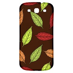 Autumn Leaves Pattern Samsung Galaxy S3 S Iii Classic Hardshell Back Case