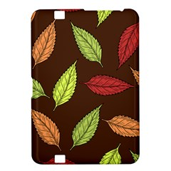 Autumn Leaves Pattern Kindle Fire Hd 8 9