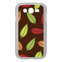 Autumn Leaves Pattern Samsung Galaxy Grand Duos I9082 Case (white)