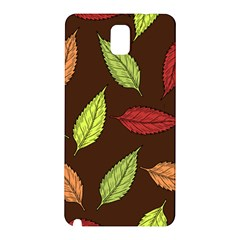 Autumn Leaves Pattern Samsung Galaxy Note 3 N9005 Hardshell Back Case