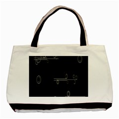 Feedback Loops Motion Graphics Piece Basic Tote Bag (two Sides)
