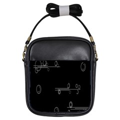 Feedback Loops Motion Graphics Piece Girls Sling Bags