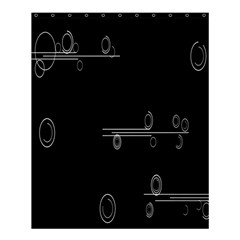 Feedback Loops Motion Graphics Piece Shower Curtain 60  X 72  (medium)