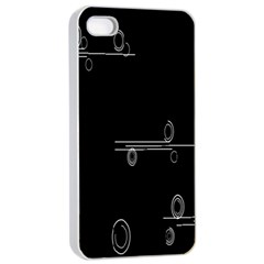 Feedback Loops Motion Graphics Piece Apple Iphone 4/4s Seamless Case (white)