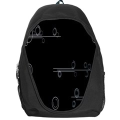 Feedback Loops Motion Graphics Piece Backpack Bag