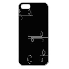 Feedback Loops Motion Graphics Piece Apple Seamless Iphone 5 Case (clear)
