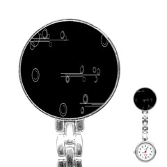 Feedback Loops Motion Graphics Piece Stainless Steel Nurses Watch
