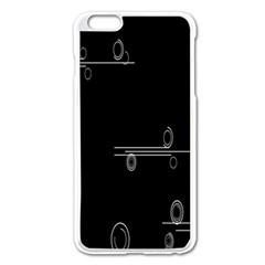 Feedback Loops Motion Graphics Piece Apple Iphone 6 Plus/6s Plus Enamel White Case