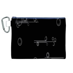Feedback Loops Motion Graphics Piece Canvas Cosmetic Bag (xl)