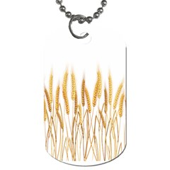 Wheat Plants Dog Tag (two Sides)