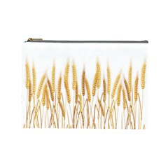 Wheat Plants Cosmetic Bag (large)