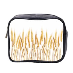 Wheat Plants Mini Toiletries Bag 2 Side