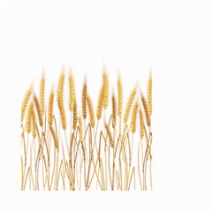 Wheat Plants Large Garden Flag (two Sides)