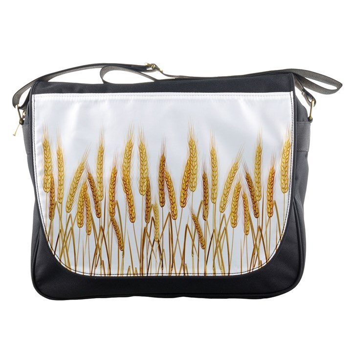 Wheat Plants Messenger Bags