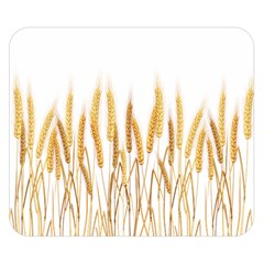 Wheat Plants Double Sided Flano Blanket (small)