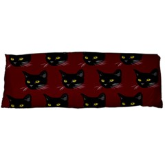Face Cat Animals Red Body Pillow Case Dakimakura (two Sides)