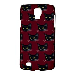 Face Cat Animals Red Galaxy S4 Active