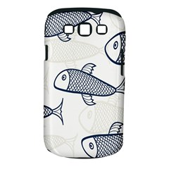 Fish Graphic Flooring Blue Seaworld Swim Water Samsung Galaxy S Iii Classic Hardshell Case (pc+silicone)