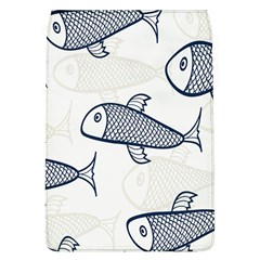 Fish Graphic Flooring Blue Seaworld Swim Water Flap Covers (l)