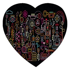 Features Illustration Jigsaw Puzzle (heart)