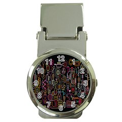 Features Illustration Money Clip Watches