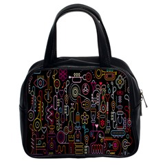 Features Illustration Classic Handbags (2 Sides)
