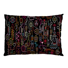 Features Illustration Pillow Case