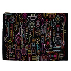 Features Illustration Cosmetic Bag (xxl)