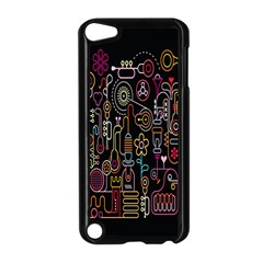Features Illustration Apple Ipod Touch 5 Case (black)