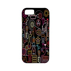 Features Illustration Apple Iphone 5 Classic Hardshell Case (pc+silicone)