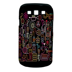 Features Illustration Samsung Galaxy S Iii Classic Hardshell Case (pc+silicone)