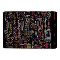 Features Illustration Samsung Galaxy Tab Pro 10 1  Flip Case