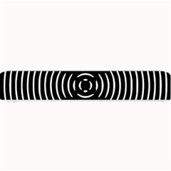 Gold Wave Seamless Pattern Black Hole Small Bar Mats