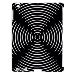 Gold Wave Seamless Pattern Black Hole Apple Ipad 3/4 Hardshell Case (compatible With Smart Cover)