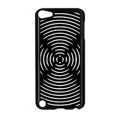 Gold Wave Seamless Pattern Black Hole Apple Ipod Touch 5 Case (black)