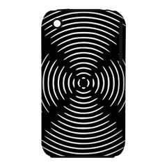 Gold Wave Seamless Pattern Black Hole Iphone 3s/3gs