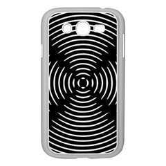 Gold Wave Seamless Pattern Black Hole Samsung Galaxy Grand Duos I9082 Case (white)