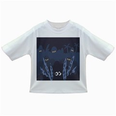 Ghost Halloween Eye Night Sinister Infant/toddler T Shirts