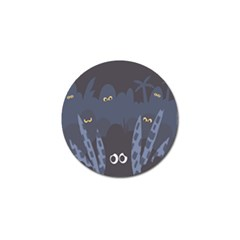 Ghost Halloween Eye Night Sinister Golf Ball Marker